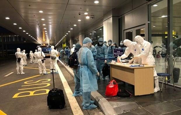新冠肺炎疫情:将在文莱的180名越南公民接回国 hinh anh 2
