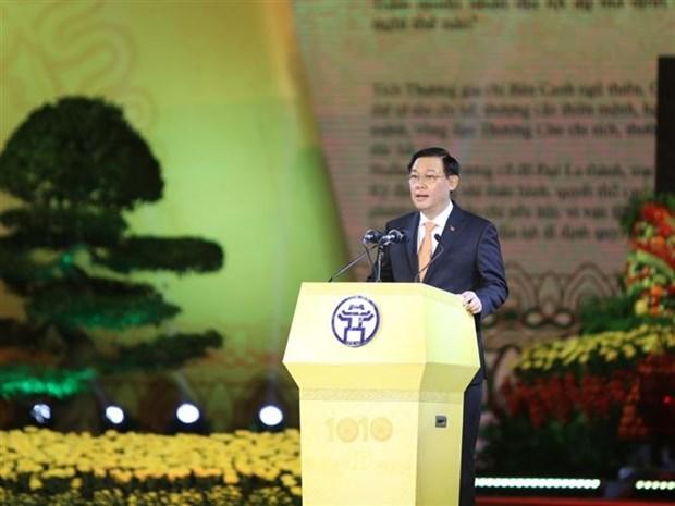 升龙-河内建都1010周年纪念典礼隆重举行 hinh anh 3
