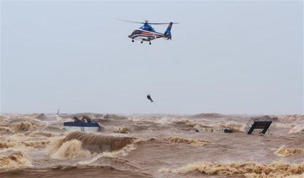 政府总理对成功营救海上遇险船员的救援力量给予表彰 hinh anh 1