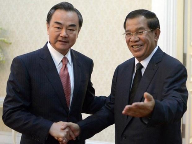 中国将向柬埔寨提供9.5亿人民币无偿援助 hinh anh 1