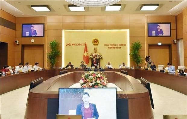 越南国会常委会第49次会议开幕 hinh anh 1