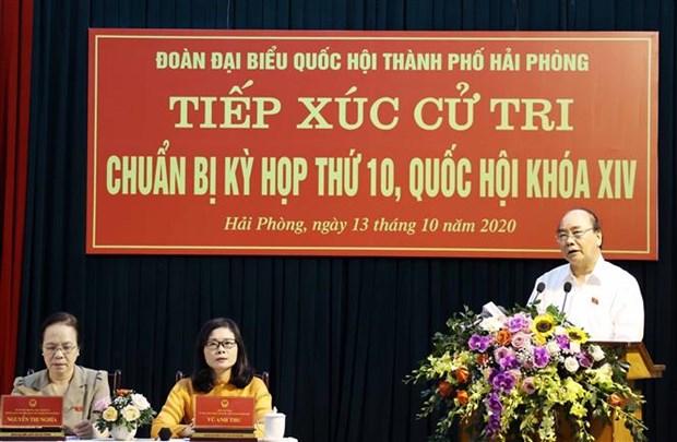 越南政府总理阮春福: 越南首次实现贸易顺差170亿美元 hinh anh 1