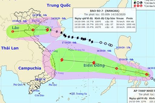 越南政府副总理郑廷勇对7号台风防御工作作出重要批示 hinh anh 2