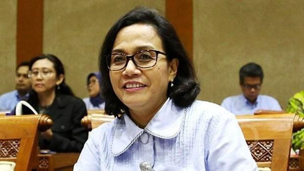 印尼财政部长英德拉瓦蒂荣获2020年度东亚太平洋最佳财长奖 hinh anh 1