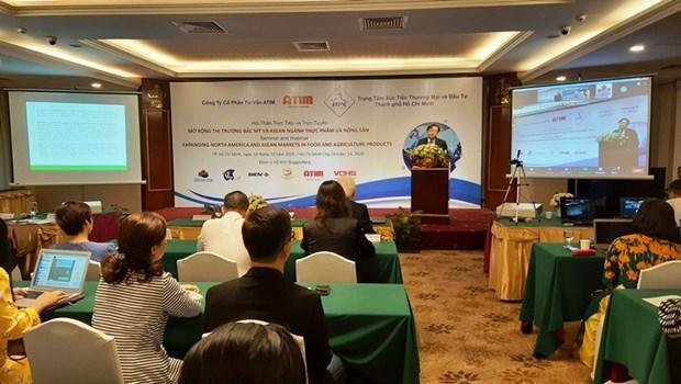 胡志明市农产品着力开拓国际市场 hinh anh 1