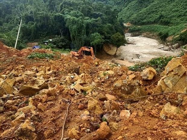 政府总理下发有关克服67号小区和捞庄三号水电站山泥石流后果的通知 hinh anh 1