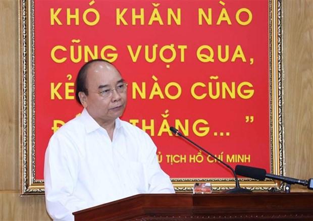 阮春福总理:调动一切力量和设备开展抢险救援工作 hinh anh 3