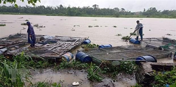 政府领导人参加为中部洪水灾民捐款活动 hinh anh 2