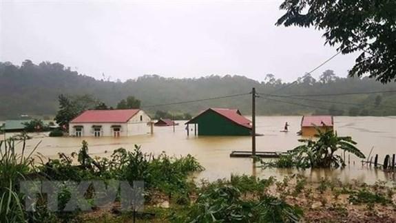 中部暴雨洪涝灾害致使84人死亡 38人失踪 hinh anh 1