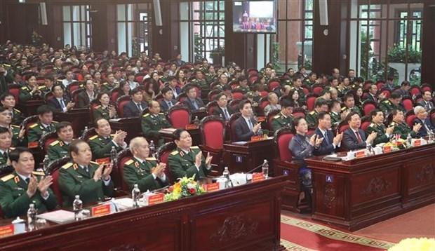 越南《人民军队报》创刊70周年 荣获三等独立勋章 hinh anh 2