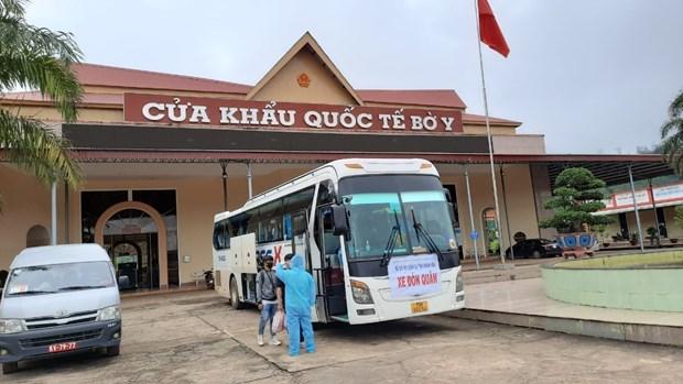 新冠肺炎疫情:在芽庄学习的老挝留学生可接受14天免费隔离 hinh anh 1