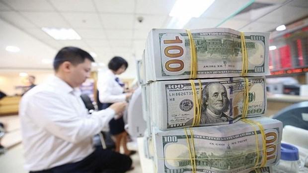 10月20日越盾对美元汇率中间价上调5越盾 hinh anh 1