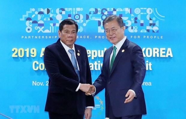 韩国与菲律宾加强国防合作 hinh anh 1