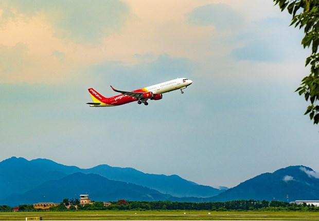 越捷航空向前往中部地区的旅客提供免费改签服务 hinh anh 1