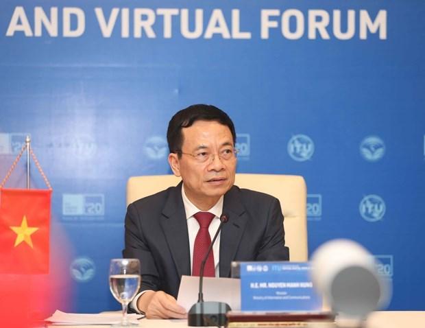 政府副总理武德儋出席国际电联2020年世界数字电信展览会 hinh anh 2