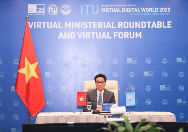 政府副总理武德儋出席国际电联2020年世界数字电信展览会 hinh anh 1