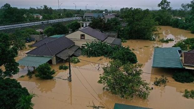 东盟灾害管理人道主义援助协调中心向越南承天顺化和广治两省提供援助 hinh anh 1