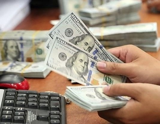 10月23日越盾对美元汇率中间价下调5越盾 hinh anh 1