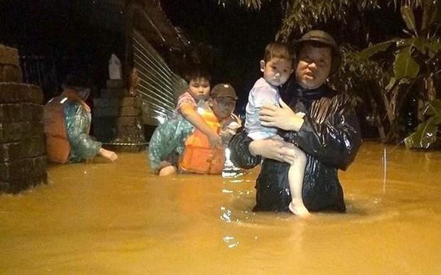 联合国儿童基金会向越南中部儿童提供援助 hinh anh 1