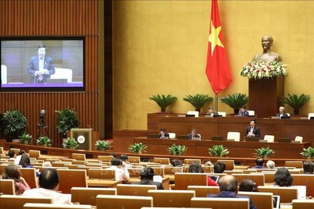 越南第十四届国会第十次会议新闻公报(第三号) hinh anh 1