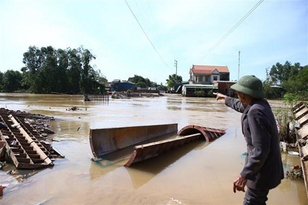 韩国向越南提供30万美元救灾援助 hinh anh 1