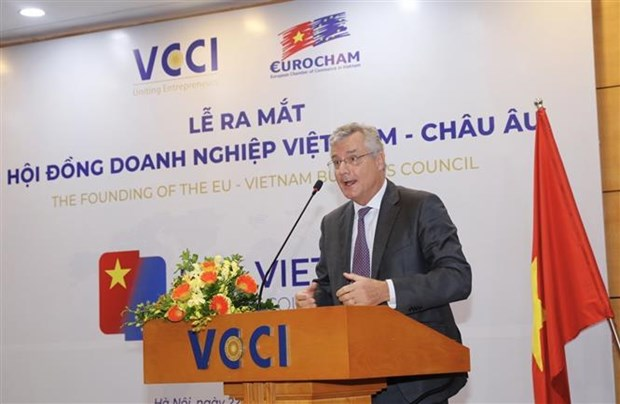 越南-欧洲企业理事会问世 hinh anh 2