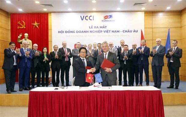 越南-欧洲企业理事会问世 hinh anh 1