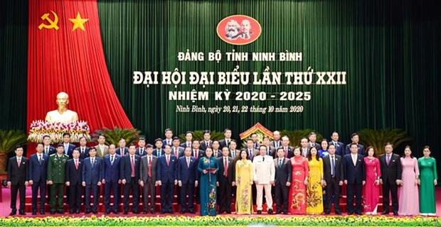 越共岘港、宁平、广义等省市党代会圆满闭幕 hinh anh 2