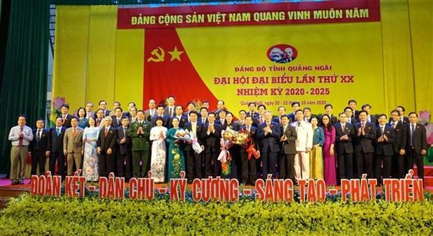 越共岘港、宁平、广义等省市党代会圆满闭幕 hinh anh 3