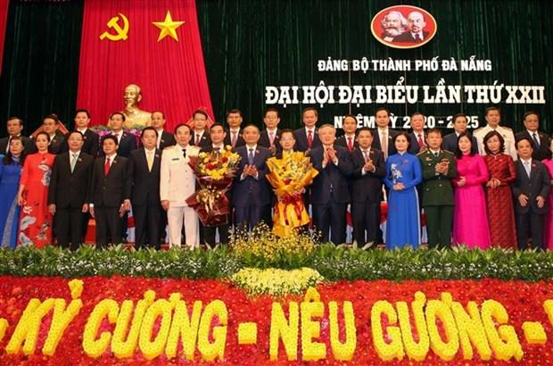 越共岘港、宁平、广义等省市党代会圆满闭幕 hinh anh 1