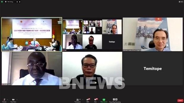 多家尼日利亚进口商十分关注越南时尚产品 hinh anh 1