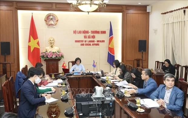 2020年东盟轮值主席年:将性别问题纳入劳动政策以促进可持续就业 hinh anh 1