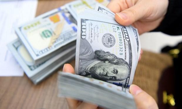 27日上午越盾对美元汇率中间价下调5越盾 hinh anh 1