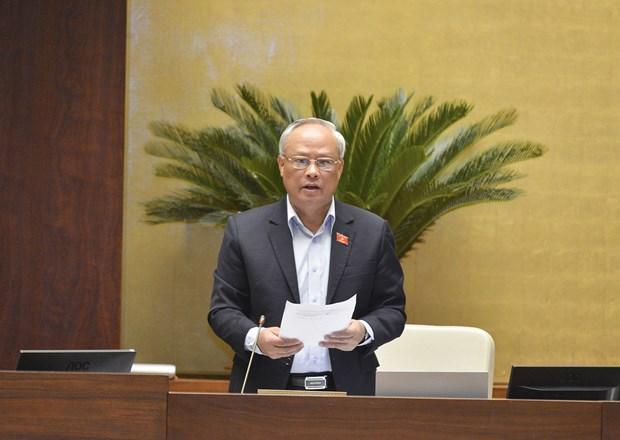 越南第十四届国会第十次会议新闻公报(第六号) hinh anh 2