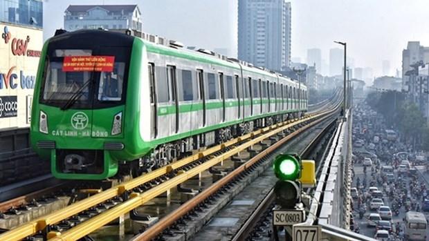制定河内城市地铁吉灵-河东线试运行计划 hinh anh 1