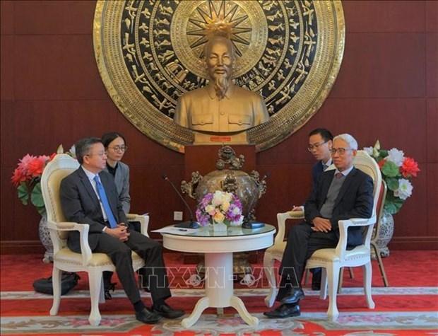 重庆市副市长李波:愿为越南出口农产品创造便利条件 hinh anh 1