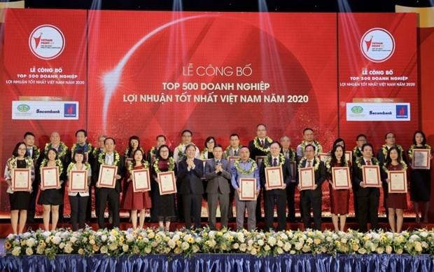 2020越南利润最高企业500强榜单出炉 PVN继续维持领先地位 hinh anh 1