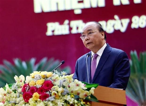 阮春福总理:旅游业应成为富寿省发展其他经济产业的助推器 hinh anh 1