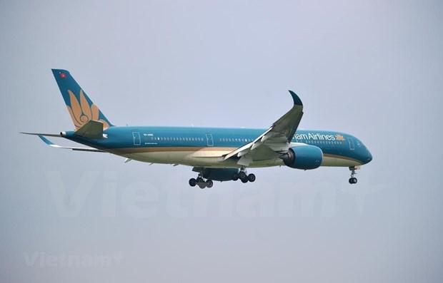 越南国家航空公司因遭受第9号台风影响而调整航班执行计划 hinh anh 1