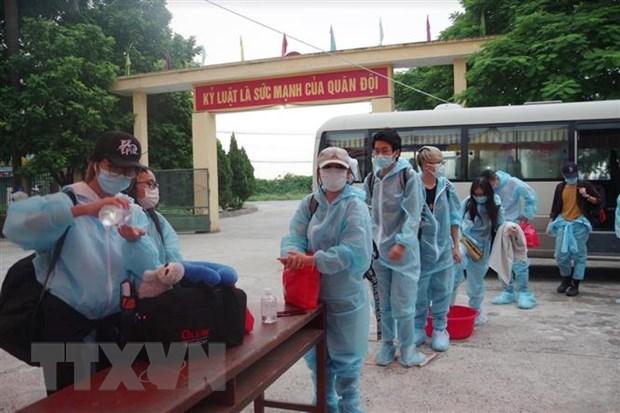 28日上午越南无新增新冠肺炎确诊病例 超过1.48万人仍在接受隔离 hinh anh 1