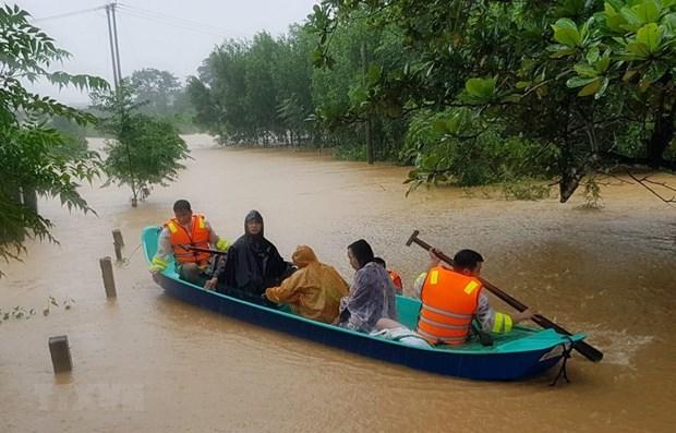 欧盟向越南中部灾区居民提供130万欧元的援助资金 hinh anh 1