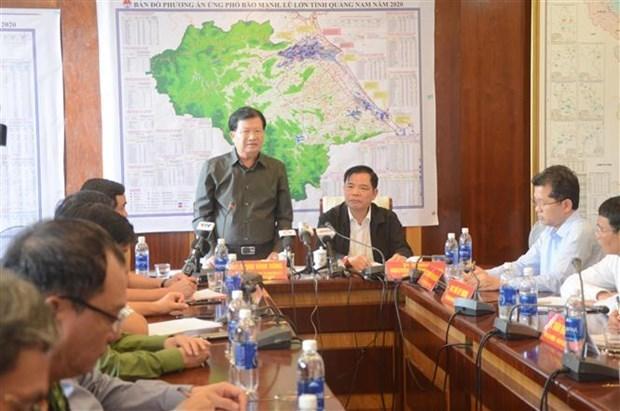 郑廷勇副总理:全力保障人民群众的生命和财产安全 hinh anh 1