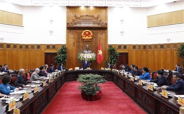 阮春福总理:越南城市发展规划协会应继续为国家的利益作础贡献 hinh anh 2