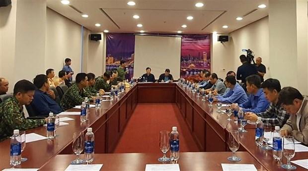 第九号台风防御工作:政府副总理郑廷勇要求把在危险海域的船只迁移到安全地带 hinh anh 1