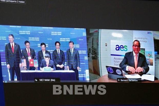 PV Gas与AES签署山美液化天然气储运调峰中心项目协议 hinh anh 1