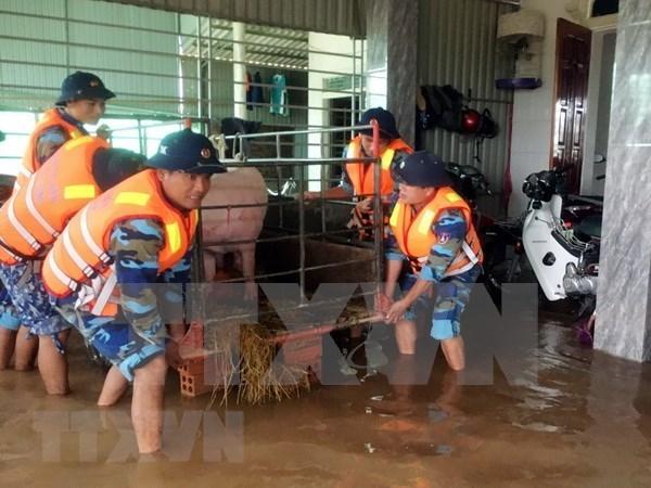 柬埔寨、蒙古国、韩国领导人就越南中部洪灾致慰问信和慰问电 hinh anh 1