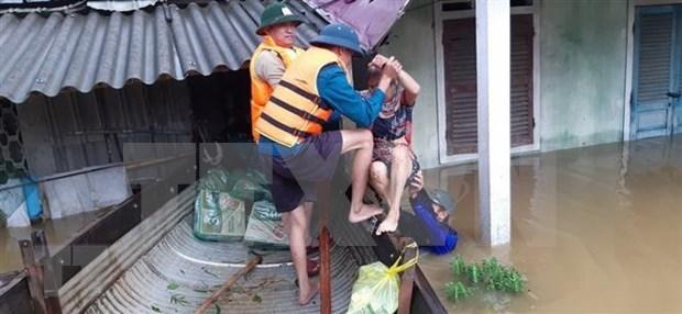 柬埔寨、蒙古国、韩国领导人就越南中部洪灾致慰问信和慰问电 hinh anh 2