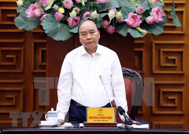 阮春福总理:要做好与国际铁路系统对接的准备 以便拓展发展空间 hinh anh 1