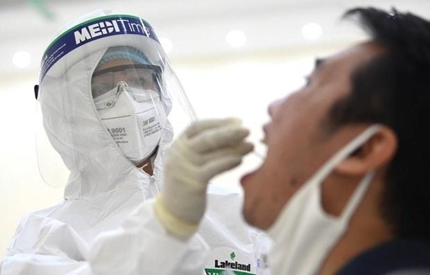 胡志明市:与疑似患有新冠肺炎的韩国专家密切接触者检测结果均为阴性 hinh anh 1