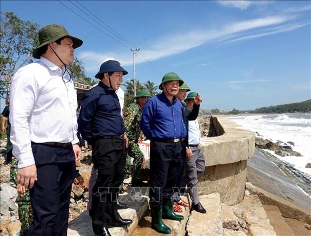 """台风""""莫拉菲""""给越南中部和西原地区造成巨大损失 hinh anh 2"""